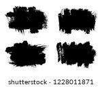 set of brush stroke backgrounds.... | Shutterstock .eps vector #1228011871