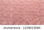 pink natural wool with twists... | Shutterstock . vector #1228015084