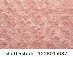 pink natural wool with twists... | Shutterstock . vector #1228015087