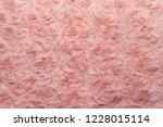 pink natural wool with twists... | Shutterstock . vector #1228015114