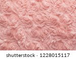 pink natural wool with twists... | Shutterstock . vector #1228015117