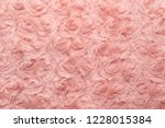pink natural wool with twists... | Shutterstock . vector #1228015384