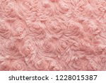 pink natural wool with twists... | Shutterstock . vector #1228015387