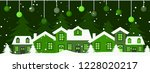 merry christmas and happy new...   Shutterstock .eps vector #1228020217
