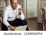 businessman talking on phone...   Shutterstock . vector #1228036954