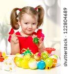 Portrait Of A Little Girl...