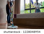 professional cleaning service... | Shutterstock . vector #1228048954