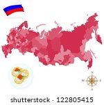 Map Of Russia  Provinces And...