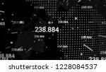 digital data globe network | Shutterstock . vector #1228084537