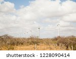 Towers Of Wind Energy In The...