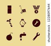 silver icon. silver vector... | Shutterstock .eps vector #1228097644