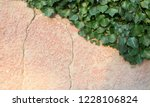 rustic and cracked wall half... | Shutterstock . vector #1228106824