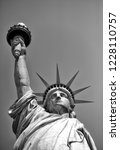 statue of liberty in new york ... | Shutterstock . vector #1228110757