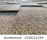 macro photo of roof covered by... | Shutterstock . vector #1228111534