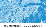 urban vector city map of... | Shutterstock .eps vector #1228120084