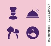 meal icon. meal vector icons... | Shutterstock .eps vector #1228129027