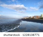 evening mirrored in the sea   Shutterstock . vector #1228138771