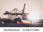 logistics and transportation of ... | Shutterstock . vector #1228171081
