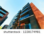 facade of modern luxury... | Shutterstock . vector #1228174981