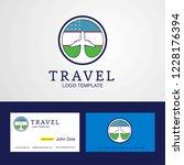 travel uzbekistan creative...   Shutterstock .eps vector #1228176394