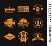 set of vintage logo  badge ... | Shutterstock .eps vector #1228177891