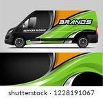 van livery design. company van...   Shutterstock .eps vector #1228191067