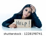 young beautiful latin business...   Shutterstock . vector #1228198741