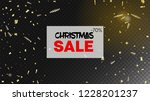 sale magic glitter confetti ... | Shutterstock .eps vector #1228201237