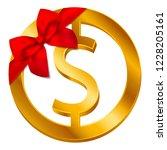 vector money dollar sign ...   Shutterstock .eps vector #1228205161