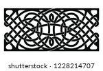 celtic national ornament... | Shutterstock .eps vector #1228214707