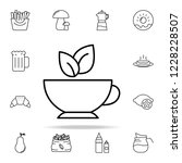 green tea icon. food and drink... | Shutterstock . vector #1228228507