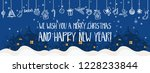 merry christmas and happy new...   Shutterstock .eps vector #1228233844