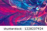 bright artistic splashes.... | Shutterstock . vector #1228237924
