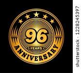 96 years anniversary.... | Shutterstock .eps vector #1228245397