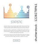 statistic infochart in...   Shutterstock .eps vector #1228278961