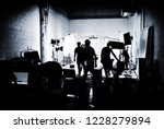 silhouette media production... | Shutterstock . vector #1228279894