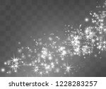 white sparks glitter special... | Shutterstock .eps vector #1228283257