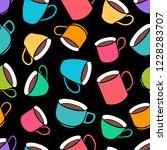seamless background of... | Shutterstock .eps vector #1228283707