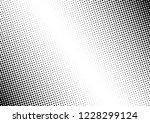 vintage dots background.... | Shutterstock .eps vector #1228299124