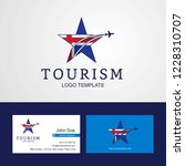 travel iceland flag creative...   Shutterstock .eps vector #1228310707