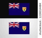 turks and caicos islands flag... | Shutterstock .eps vector #1228314484