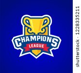 champion sports league logo... | Shutterstock .eps vector #1228335211