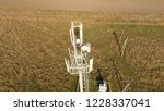 cellular tower. equipment for... | Shutterstock . vector #1228337041