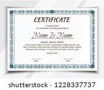 certificate potrait and... | Shutterstock .eps vector #1228337737
