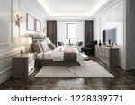 3d rendering beautiful luxury... | Shutterstock . vector #1228339771