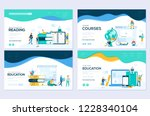 website and mobile website... | Shutterstock .eps vector #1228340104