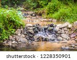 image of water pond at pong nam ... | Shutterstock . vector #1228350901