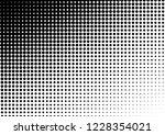 modern dots background. pop art ... | Shutterstock .eps vector #1228354021