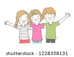 vector illustration character...   Shutterstock .eps vector #1228358131