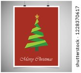 merry christmas creative design ... | Shutterstock .eps vector #1228370617